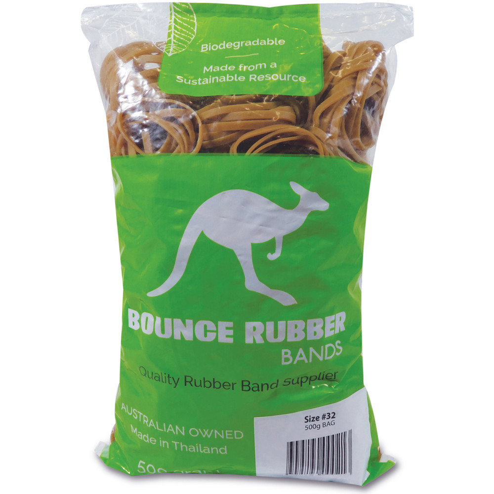 Bounce Rubber Bands SIZE 32 Bag 500gm