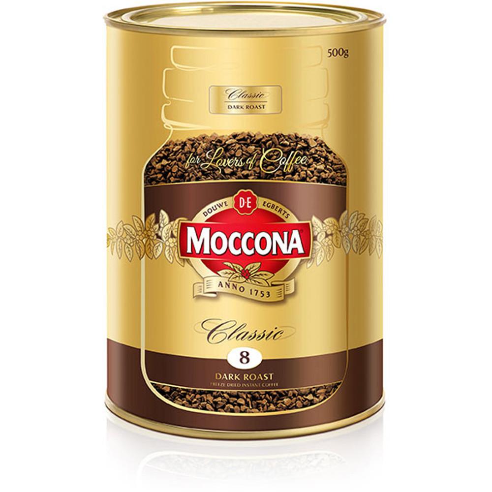 Moccona Coffee Classic Dark Roast 500gm Can