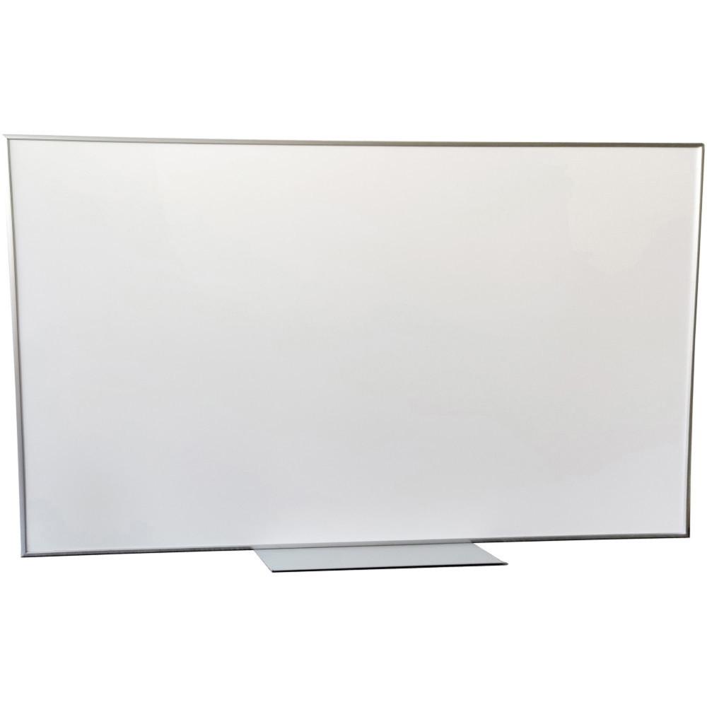 Quartet Penrite Premium Whiteboard 900x600mm White/Silver BONUS Markers