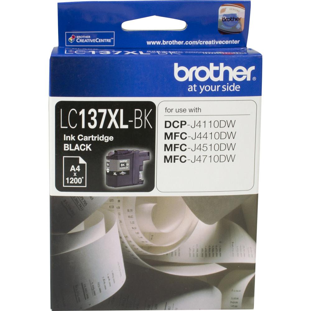 Brother LC137XLBK Ink Cartridge High Yield Black