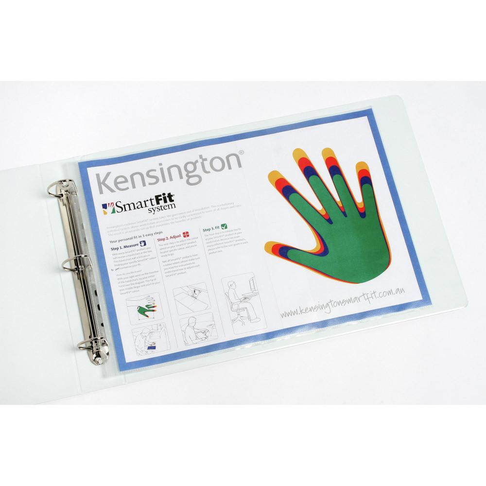Marbig Sheet Protectors A3 Heavy Duty Copy safe Landscape Box Of 100