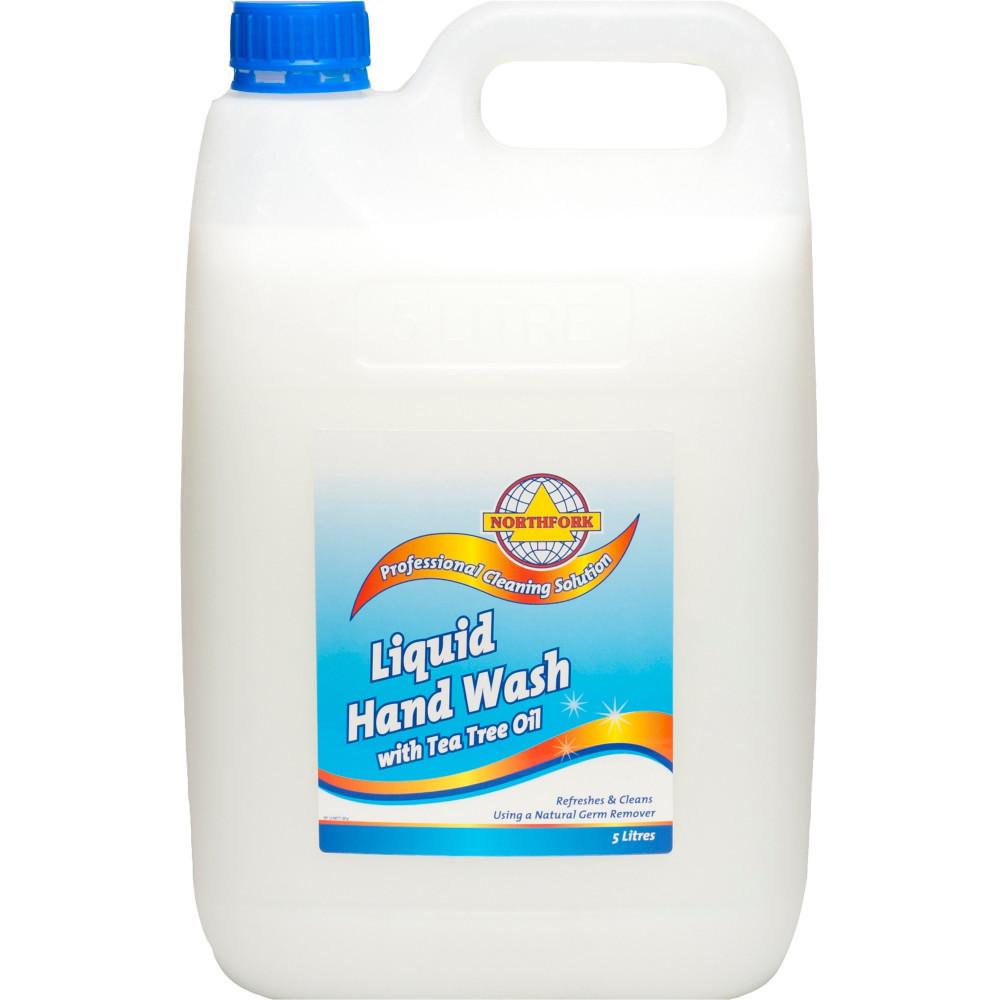 Northfork Liquid Hand Wash With Tea Tree Oil 5 Litres