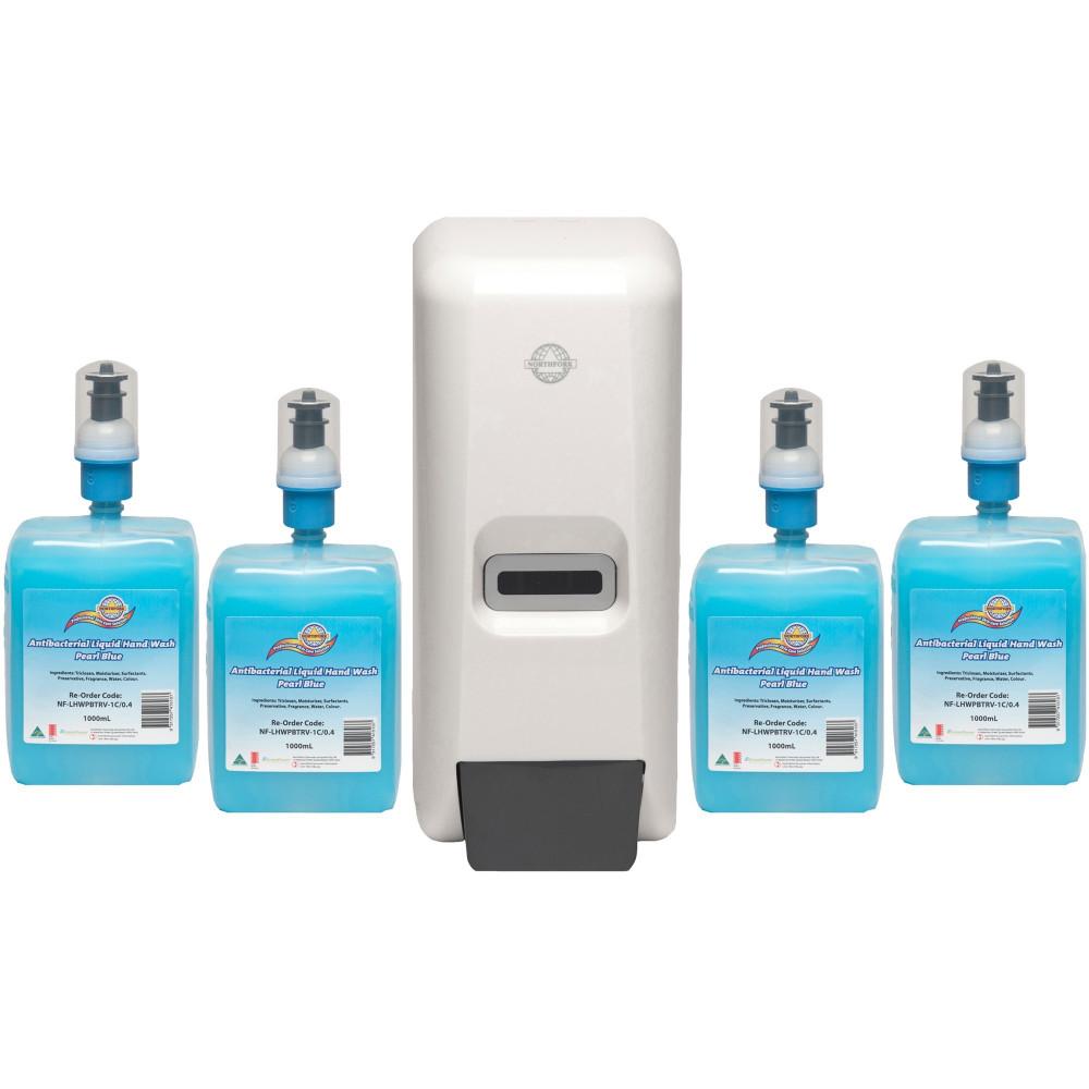 Northfork Hand Cleaner Starter Pack Pearl Blue 0.4ml