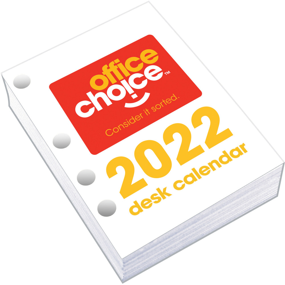 Office Choice Desk Calendar Side Opening Refill 100x75mm