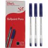 Stat Ballpoint Pen Medium 1mm Blue