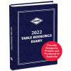 Zions Table Booking Diary 2 Pages To A Day A4 Blue