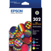 EPSON INK CARTRIDGE 202 Value Pack 4 Colours