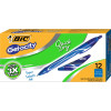 BIC GELOCITY GEL PEN Retractable 0.7mm Medium Blue Pack of 12