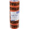 CUMBERLAND WARNING TAPE 48Mm X 66M Fragile Orange Black Pack Of 6