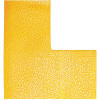 DURABLE FLOOR MARKING SHAPE - L Yellow Pack of 10