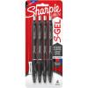 Sharpie Gel Pen Retractable 0.7mm Business Assorted Pack of 4