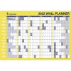 Collins Wall Planner Double Sided 686X990mm Roll Up
