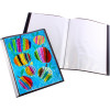 Quill Insert Display Book A3 20 Fixed Pockets Black