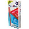 Paper Mate Write Bros Ballpoint Pen Medium 1mm Red Pack of 12