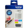 Brother LC3317 Ink Cartridge Value Pack of 3 Assorted Colours