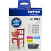 Brother LC3319XL Ink Cartridge Value Pack of 3 Assorted Colours