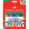 Faber-Castell Tri Colour Pencils Assorted Pack of 24