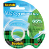 Scotch 123 Greener Magic Tape 19mmx15.2m 65% Recycled With Dispenser