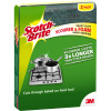 Scotch Brite Sponges Heavy Duty Foam Scrub Pack of 2