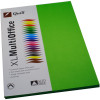 Quill Colour Copy Paper A4 80gsm Lime Pack of 100