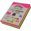 Rainbow Office Copy Paper A4 80gsm Fluoro Assorted Ream of 500