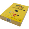 Rainbow Office Copy Paper A4 80gsm Yellow Ream of 500