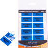 Stylus 4299 Tamper Evident Security Seals 35x18mm 60 Labels Pack of 5