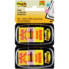 Post-It 680-SH2 Flags Twin Pack 25x43mm Sign Here Yellow Pack of 2