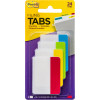 Post-It 686-ALYR Durable Tabs 50x38mm Filing Bright Assorted Pack Of 24