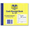 SPIRAX BUSINESS BOOK 504 Cash Receipt Quarto Side Opening