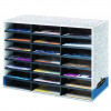 Fellowes Literature Sorter 21 Compartment 730X510X300mm Grey