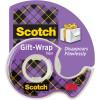 Scotch 15L Gift-wrap Tape 19mmx16m Clear & Dispenser