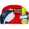 Scotch DP-1000 Tape Dispenser Easy Grip with Tape Suits 48mm x22.85m Tape With Bonus Tape