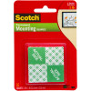 Scotch 111P Mounting Tape 2.5cmx2.5cm Indoor Squares Pack of 16