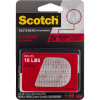 Scotch RF6730 Extreme Fastener Strips 2.5x7.6cm Clear Pack of 2