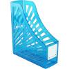 Italplast Neon Magazine Holder Neon Blue