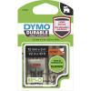 Dymo D1 Label Cassette Tape Durable 12mm x 3m Black on Orange
