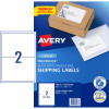 Avery Shipping Laser Labels l7168 199.6x143.5mm White Pack of 100 (200)