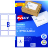 Avery Shipping Laser Labels L7165 99.1x67.7mm White Pack of 100 (800)