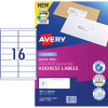 Avery Quick Peel Address Laser Labels L7162 99.1x34mm White 320 Labels, 20 Sheets