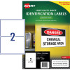 AVERY L7068 DURABLE LABEL Laser 2/Sht 199.6x143.5mm Wht Pack of 25
