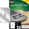 Avery Heavy Duty Laser Labels l6013 210x298mm Silver 20 Labels, 20 Sheets