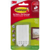 COMMAND PICTURE HANGING STRIPS 17201-4PK Medium White