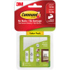 COMMAND PICTURE HANGING STRIPS 17203 Small and Medium Pack White