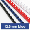 REXEL BINDING COMB 12mm 95 Sheet Capacity  Blue Pack of 100