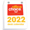 Office Choice Desk Calendar Top Opening Refill 100x75mm