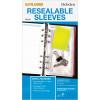 Debden Dayplanner Refill Ziplock Bag 96X172Mm Pack Of 2