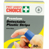 Trafalgar Blue Plastic Strips Extra Wide Pack of 50