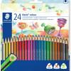 Staedtler Noris Triangular Colour Pencils Assorted Pack of 24