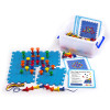 Edx Education Geo Pegs And Peg Board Activity Set